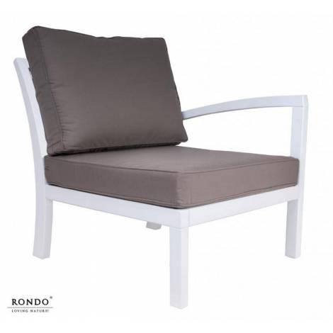 Fotel ROMA z lewym podłokietnikiem