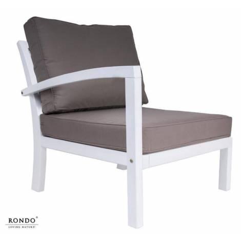 Fotel ROMA z prawym podłokietnikiem