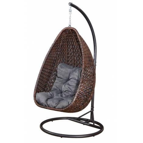 Fotel wiszący MARRONE